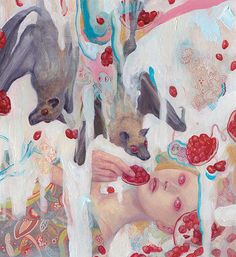 Love these paintings by So Youn Lee! so youn lee via: supersonic Kunst Inspo, Art Inspo, Painting Inspiration, Art And Illustration, Fantasy Kunst, Fantasy Art, Pretty Art, Cute Art, Aya Takano