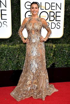 Golden Globes night is here! Click through to see all the movie and TV stars who walked the red carpet outside the Beverly Hilton on Jan. 8 before they settled in for the ceremony hosted by the Tonight Show's Jimmy Fallon. See all the winners here as they're announced.