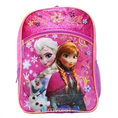 """Disney Princess Frozen Olaf Snowman 16/"""" inches backpack NEW Licensed Product"""