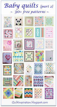 Various baby quilts