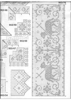 38 fantastiche immagini su bordure per tovaglie altare for Pizzi uncinetto per tovaglie