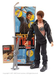Palitoy Action Man Boxed Atomic Man No. 34060