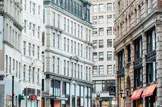 Boston Massachusetts, Boston, Multi Story Building, Usa, Canada, U.s. States