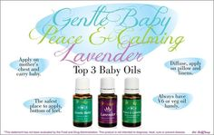Baby Oils from Young Living