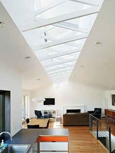 Atomic Ranch by Graham Baba Architects, love the ceiling