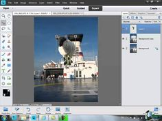 Using Layers in Photoshop Elements 11 - Part 1