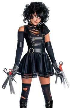 Edward Scissorhands Cosplay Halloween Costume