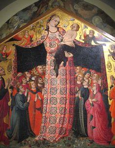 Parri Spinelli - Madonna della Misericordia - 1435-37 - Museo di arte medievale e moderna, Arezzo