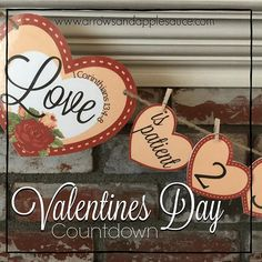 I am pretty dang excited about this one guys!! New #ontheblogtoday . Use this sweet PRINTABLE #valentinesday countdown banner to help your kiddos learn the attributes of love.  Starting February first turn over a heart each day to see an attribute of love from 1 Corinthians 13:4-8. LOVE IT!! #arrowsandapplesauceonIG    #1corinthians13 #loveispatient #loveiskind #learningtolovewell #happyvalentinesday #celebrateloveeveryday #dayolove #valentinesprintables #etsyshopowners #etsyfindsoninstagram