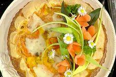 Ricetta Torta salata con carote e taleggio - Sergio Barzetti