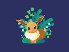 Eevee designed by Erica. Connect with them on Dribbble; the global community for designers and creative professionals. Pokemon, Pikachu, Saint Charles, Silver Spring, Cute Gif, San Luis Obispo, Discord, Tropical, Fandoms