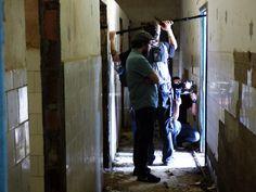 Fotos das filmagens na Colônia Juliano Moreira. Por Eduardo Mourão Vasconcelos. Ladder, Pictures, Stairway, Ladders