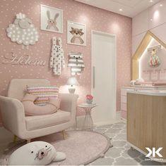 Baby Girl Nursery Room İdeas 495958977711308281 - Baby girl nursery ideas Source by Baby Bedroom, Baby Room Decor, Girls Bedroom, Bedroom Decor, Room Baby, Bedroom Modern, Baby Room Design, Girl Bedroom Designs, Little Girl Rooms