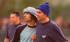 Liam Gallagher n Damon Albarn