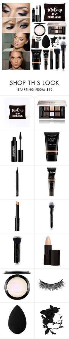 """""""Make up"""" by bmaroso ❤ liked on Polyvore featuring beauty, Givenchy, Edward Bess, Laura Geller, NARS Cosmetics, NYX, SUQQU, Marc Jacobs, Serge Lutens and MAC Cosmetics"""