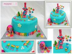 Trolls cake / Trolls taart