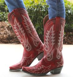Rivertrail Mercantile - Old Gringo Boots Nevada Red, $400.00 (http://www.rivertrailmercantile.com/old-gringo-boots-nevada-red/)