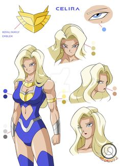 Celira Concept Art 2 by on DeviantArt Female Character Design, Character Art, Dbz Characters, Superhero Design, Fantasy Girl, Dragon Ball Z, Concept Art, Marvel, Disney