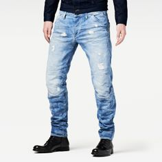 G-STAR So Morris Tapered Jeans Men&39s 31 Authentic NEW with Defect