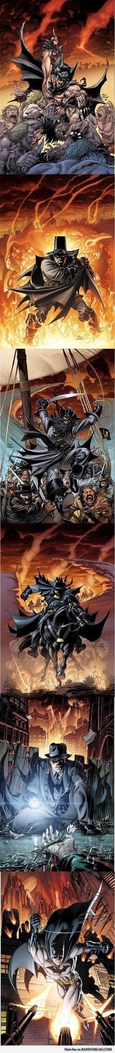 Batman: The Return of Bruce Wayne Covers