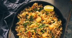 This great tropical flavoured Coconut, Pineapple Thai Fried Rice is incredibly delicious and this fantastic recipe is a keeper! It's a ...