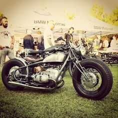 Bobber Inspiration | BMW bobber. Photo by Götz Göppert photography. | June 2014