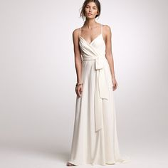 My wedding dress- J Crew Goddess Gown <3