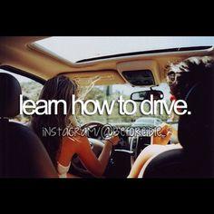 learn how to drive  @beforeidie- #webstagram