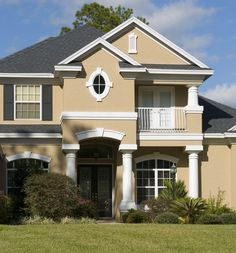 www.exterior house colors | Color Chemistry and house paint - Elegant Painting