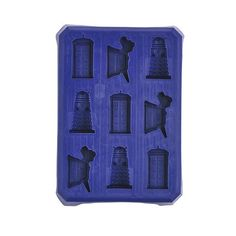 Doctor Who Ice Silicone Ice Cube Tray Doctor Who