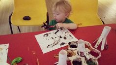 Lots of fun with arts and crafts today! #artsandcrafts #littlemitacles #charity