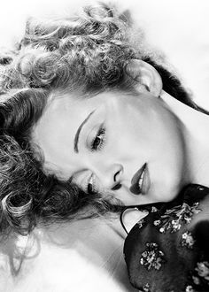 Bette Davis photographed by George Hurrell c. 1939