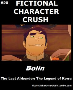 #20 - Bolin from The Last Airbender: The Legend of Korra 18/07/2012