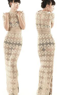 crochet dress - www.cristinadami.com