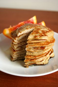 Ten 3-Ingredient Recipes  These sugarless, gluten-free pancakes only require 1 ripe banana, 2 eggs, and 2 Tbsps. of coconut flour. That's it!