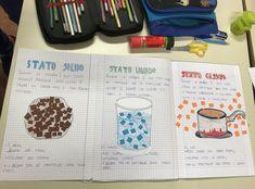 La materia, classe terza (work in progress) – Maestra Mihaela Circle Time, Teaching Science, School Bags, Homeschool, Bullet Journal, Classroom, Teacher, Education, Kids