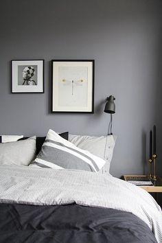 finally ... grey or black bedroom.