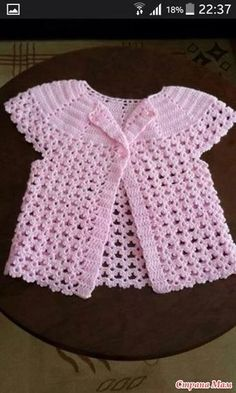 Crochet Dishcloths - Curso de Tricô Para Iniciantes :: Aula 03 - Crochet and Knitting Patterns Baby Knitting Patterns, Baby Patterns, Crochet Patterns, Crochet Baby Sweaters, Crochet Baby Clothes, Crochet Dresses, Knitting Sweaters, Crochet I Cord, Knit Crochet