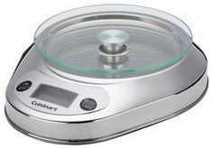 Cuisinart - PrecisionChef Digital Kitchen Scale - Stainless-Steel, KML-KO3B