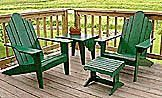 Free Plans to Help You Build an Adirondack Chair: Free Adirondack Chair Plan from HomeTime