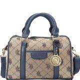 dfae671d8e02 Love this U.S. Polo Association Logo Jacquard Mini Satchel.  Polo handbag   brand name handbag  handbag