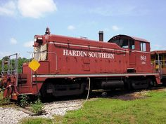 Hardin Southern EMD SW1 diesel Locomotive in USA