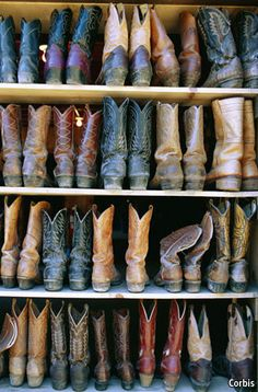 Texas Traditions, one of America's most renowned custom bootmakersL: Lee Miller   There are perhaps 250 custom bootmakers in the United States, and the waiting list for the most admired makers, like Mr Miller, can stretch for several years.