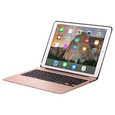 Cooper Kai Skel Backlight Keyboard Clamshell with built-in Power Bank for Apple iPad Air 2, iPad Pro 12.9 and iPad Mini 4