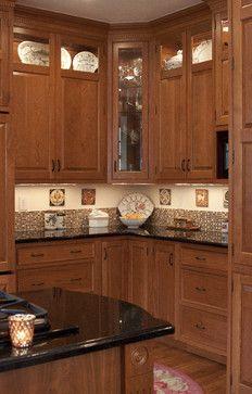 Brown/Nilon Kitchen 2 - traditional - kitchen - dc metro - Cameo Kitchens, Inc.