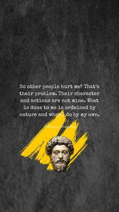 #Stoicism #MarcusAurelius Wise Quotes, Quotable Quotes, Great Quotes, Motivational Quotes, Inspirational Quotes, Great Words, Wise Words, Marcus Aurelius Quotes, Stoicism Quotes