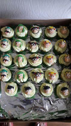 Cupcake Turma do chaves by Angel Artes e Festas. Veja mais em nossa página www.facebook.com/angelartes