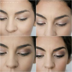 sweetheart casual makeup tutorial using the Urban Decay Naked Palette