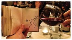 A glass of wine | 1