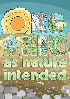 """""""Organic... As Nature Intended"""" Monthly Campaign (September 2015)"""